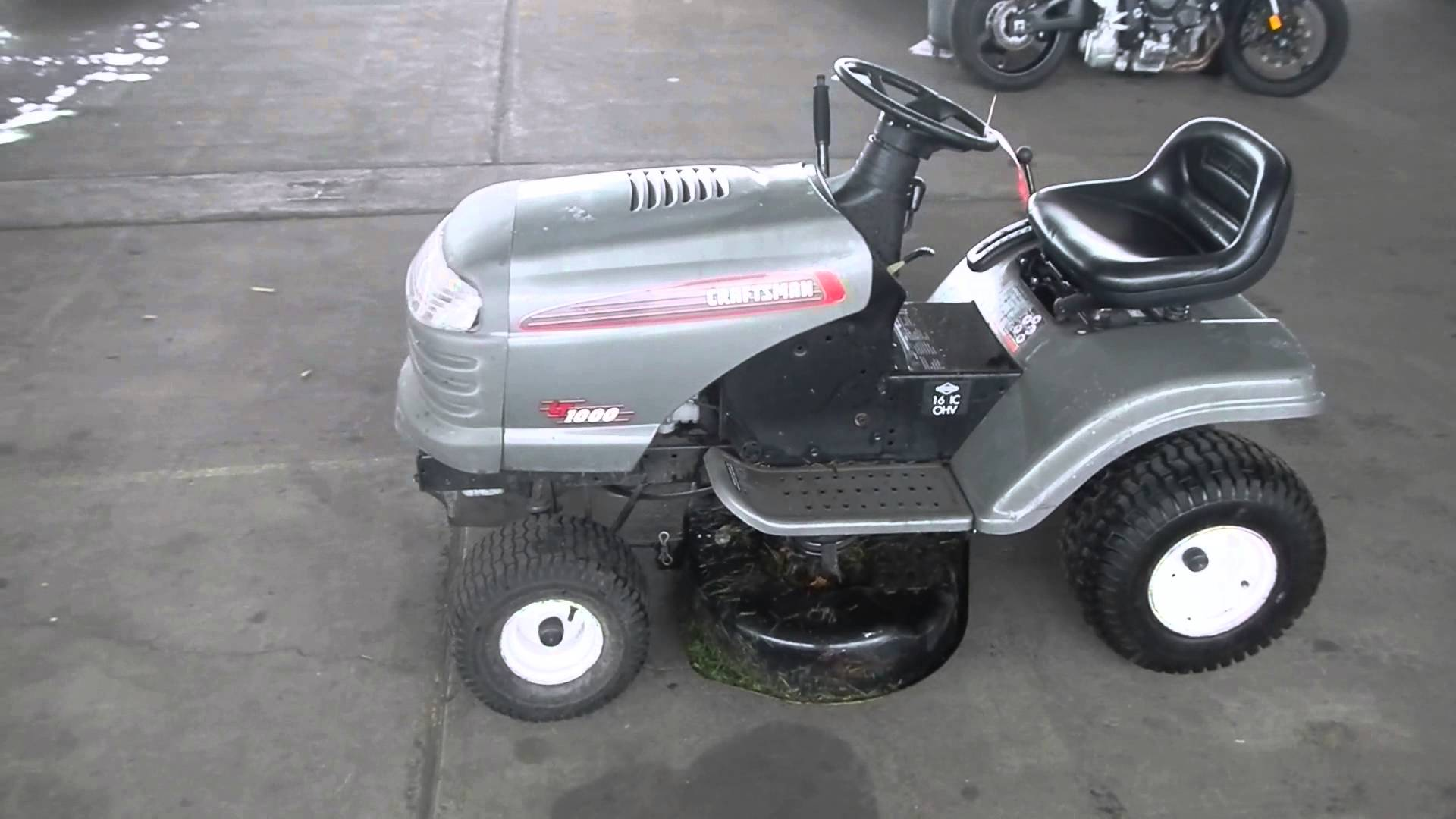 Craftsman 24720370 Lawn Tractor | Craftsman Lawn Tractors