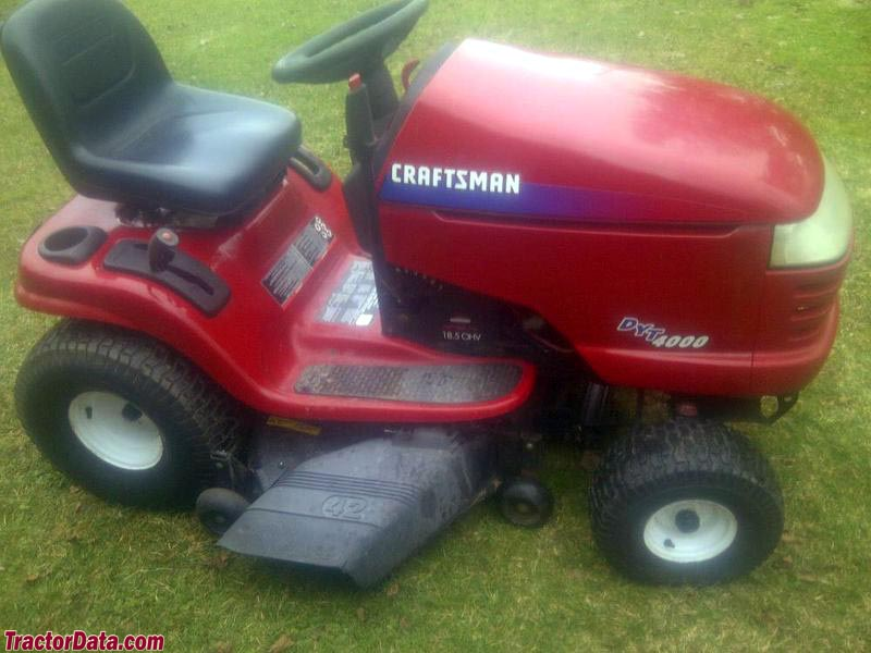 Craftsman 91727403 lawn tractor craftsman lawn tractors craftsman craftsman 91727382 dyt 4000 4 images photos courtesy of george fandeluxe Images