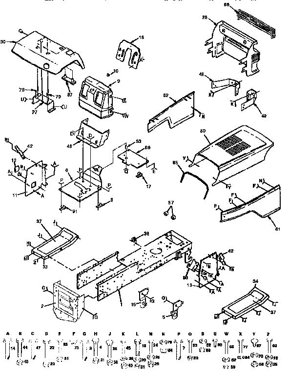 Craftsman 91727691 Lawn Tractor