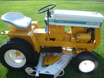 Cub Cadet 125 Lawn Tractor | Cub Cadet Lawn Tractors: Cub Cadet Lawn