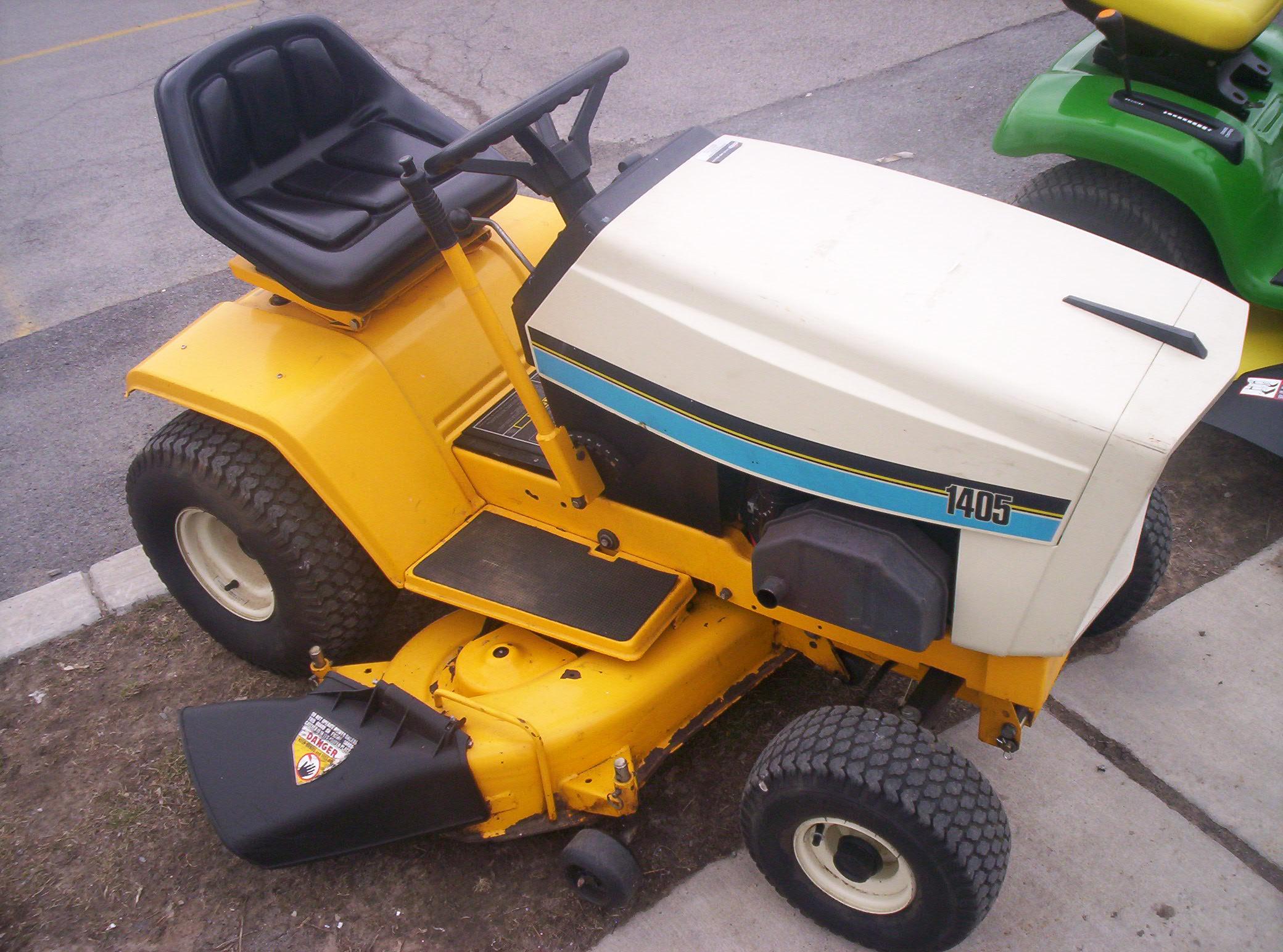 Cub Cadet 1405 Lawn Tractor Tractors. Used Cub Cadet 1405. Wiring. Cub Cadet Mower Model 1415 Wiring Diagram At Scoala.co