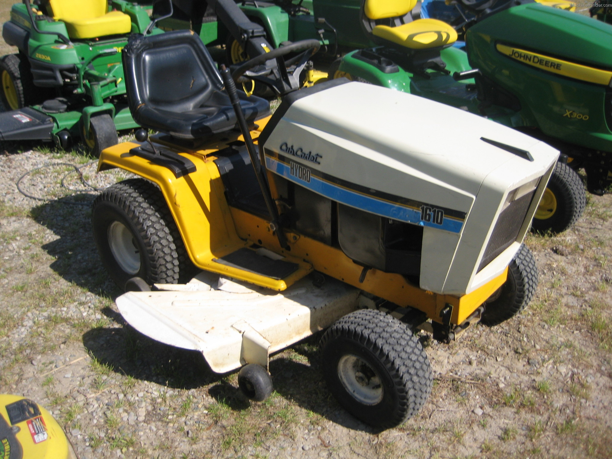Cub Cadet 169 Lawn Tractor Tractors 1450 Schematic 1610 Garden And Commercial Mowing John Deere