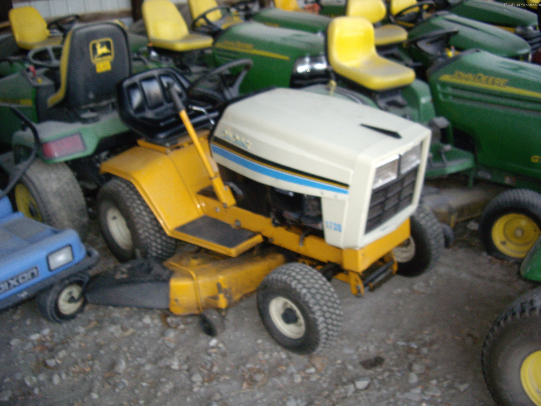 Cub Cadet 169 Lawn Tractor Tractors 1450 Schematic 1730 Machinefinder My News Faq Help Financing Certified