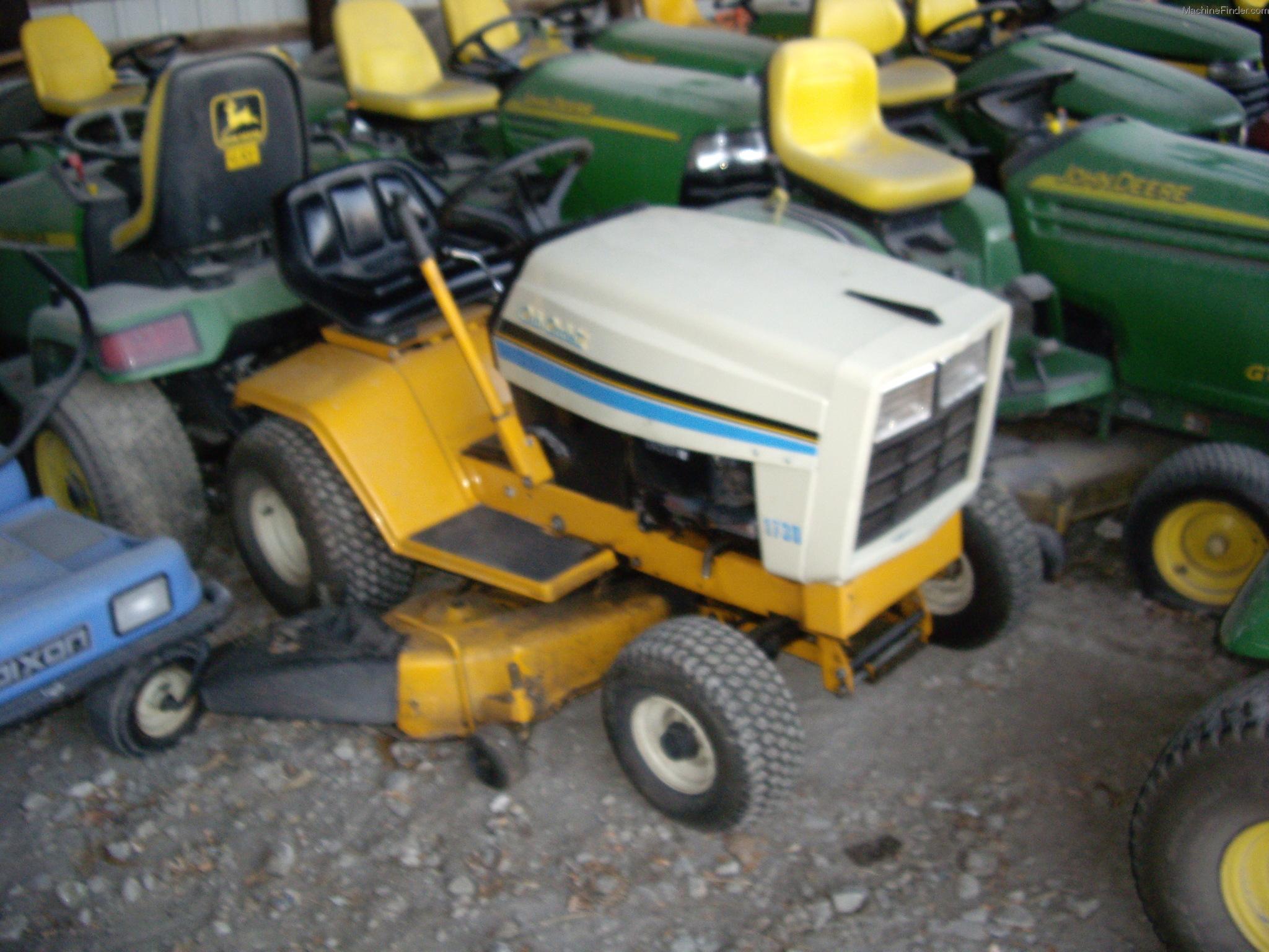 Cub Cadet 169 Lawn Tractor Tractors 1450 Schematic 1730 Machinefinder My News Faq Help Financing Certified