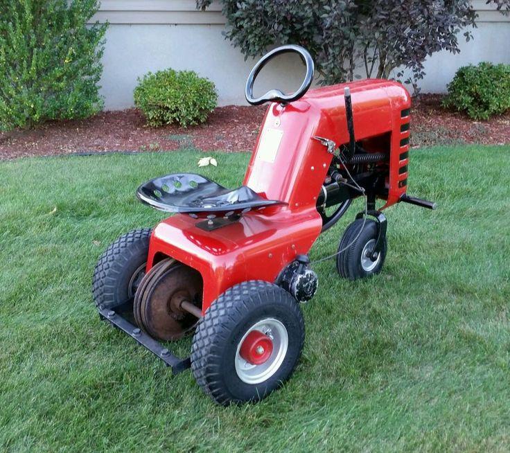 Hiller Yard Hand 100 Lawn Tractor   Hiller Yard Lawn