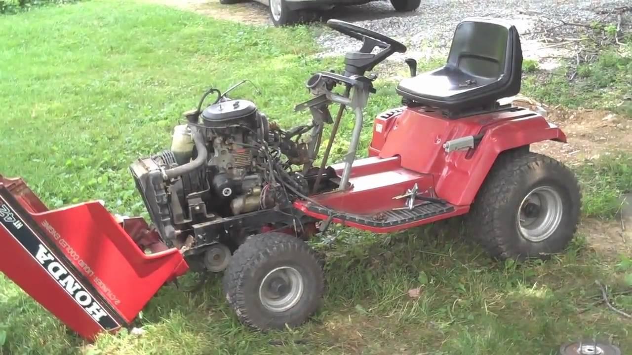 Honda Lawn Tractor Wiring Diagram   Wiring Diagram on