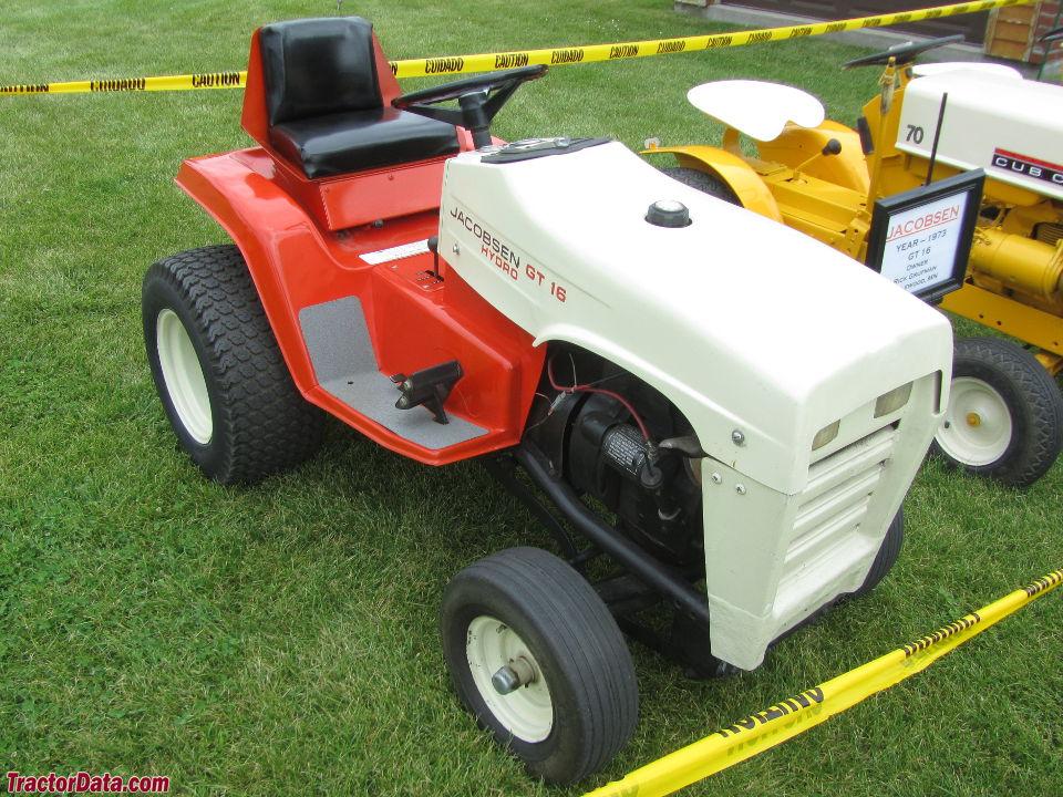 Jacobsen Gt 14 Lawn Tractor | Jacobsen Lawn Tractors ... on