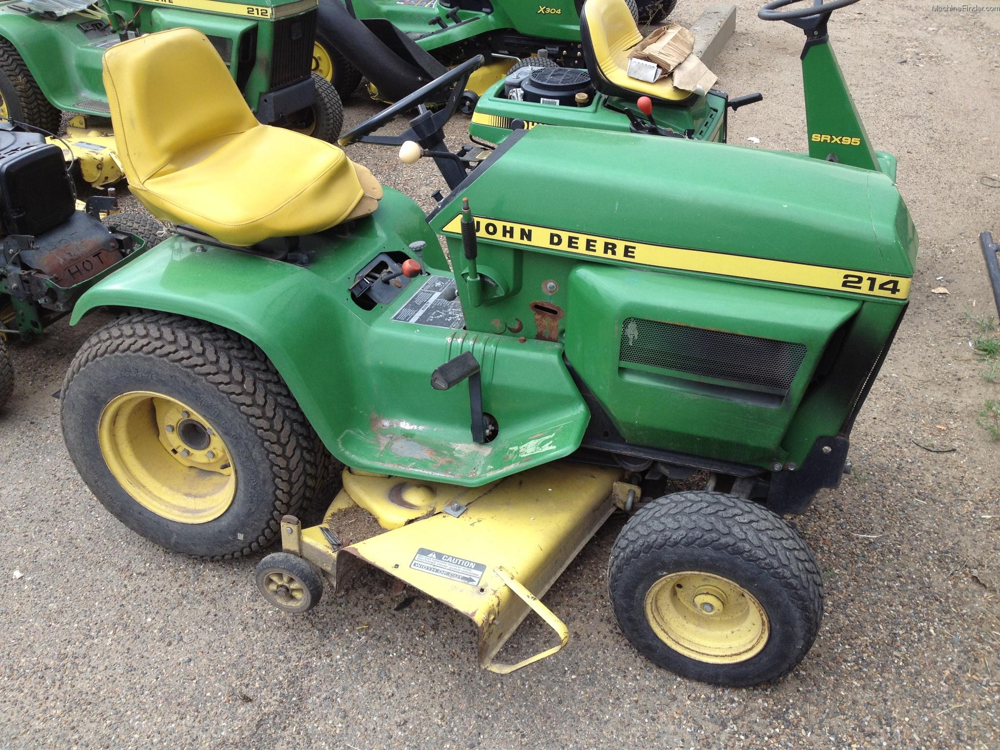 John Deere 214 Lawn Tractor Tractors 212 Wiring Harness