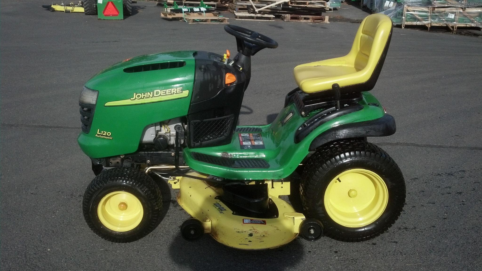 John Deere L120 Lawn Tractor Tractors La125 Wiring Diagram