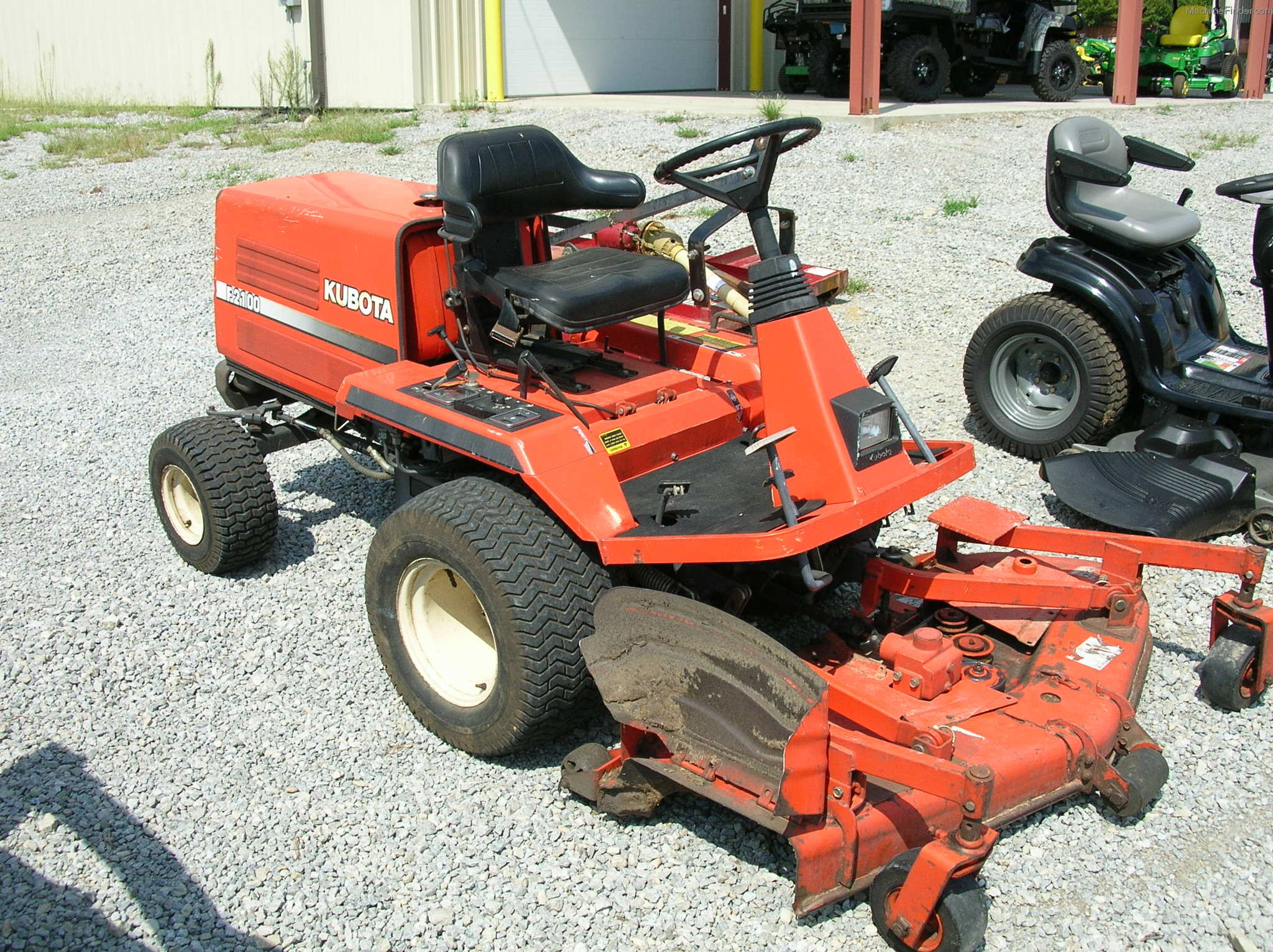 Kubota Lawn Tractors T1760 Wiring Diagram And Commercial Mowing F2100 Hours 1541 Status On Lot
