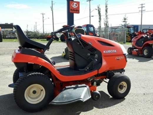 Kubota T1570 Lawn Tractor   Kubota Lawn Tractors: Kubota