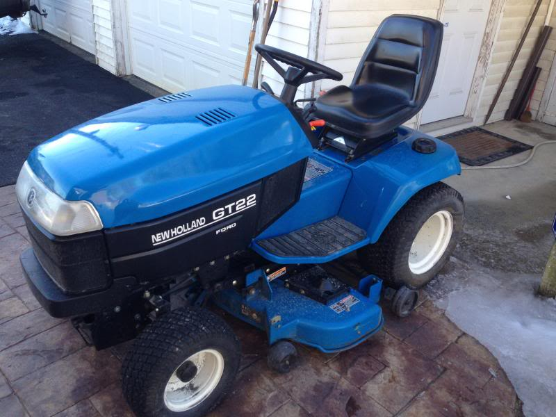 New Holland Gt18 Lawn Tractor   New Holland Lawn Tractors: New ... on