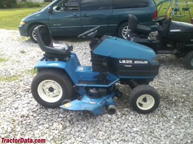 New Holland Ls35 Lawn Tractor | New Holland Lawn Tractors: New ...