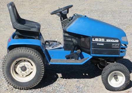 New Holland Ls35 Lawn Tractor   New Holland Lawn Tractors: New ... on