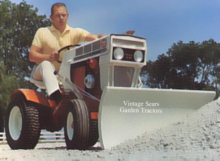 Sears Suburban 10 Lawn Tractor   Sears Lawn Tractors: Sears