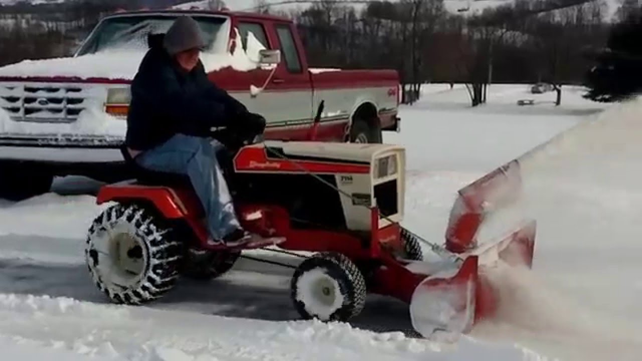 Simplicity 7114 Lawn Tractor Tractors 7016 Wiring Diagram With Snowblower Youtube