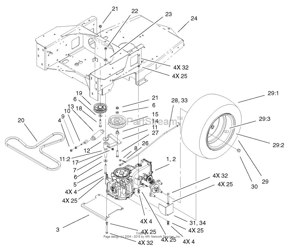 Toro Timesaver Z5030 Repair Manual