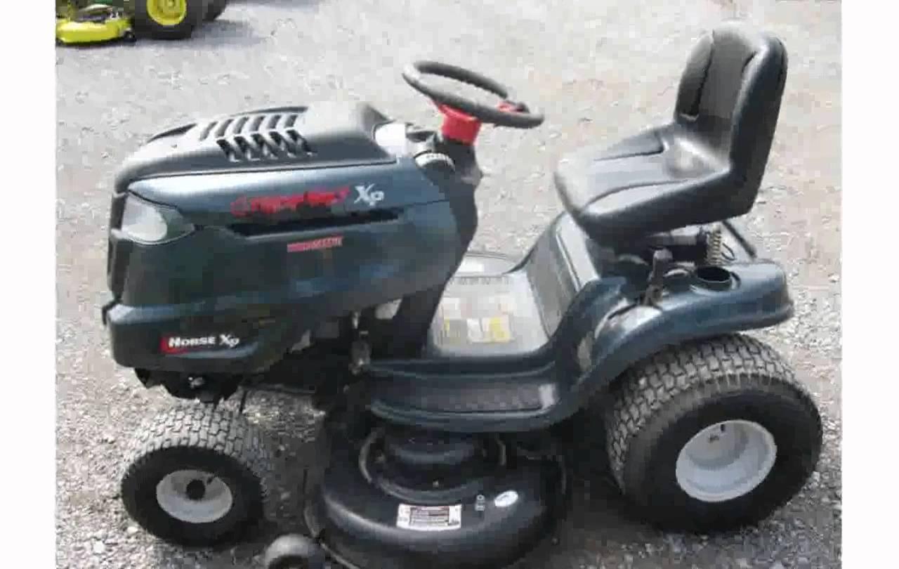 Troy Bilt Horse Xp Lawn Tractor | Troy Bilt Lawn Tractors