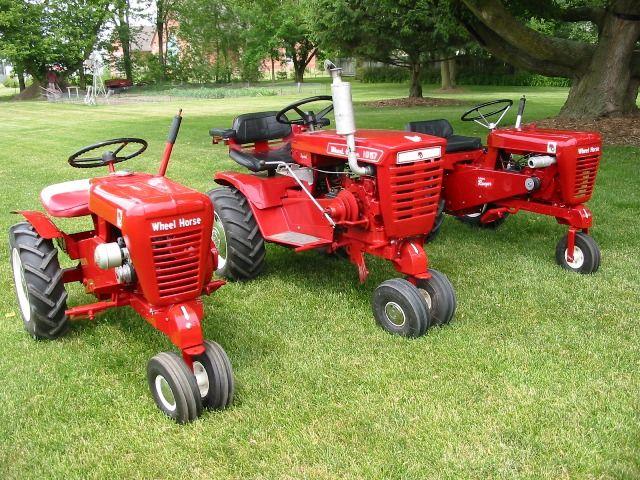 Wheel Horse 1057 Lawn Tractor   Wheel Horse Lawn Tractors