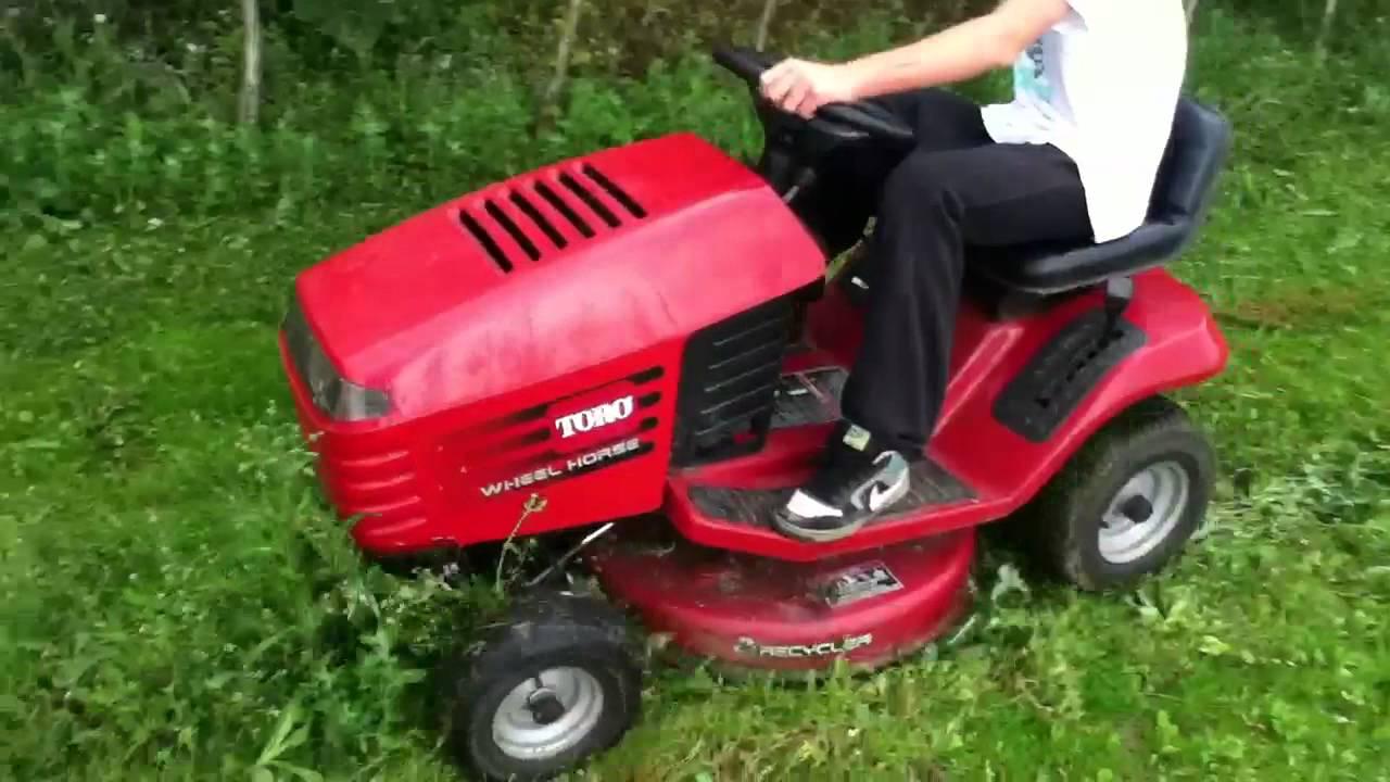 Wheel Horse 13 38xl Lawn Tractor   Wheel Horse Lawn Tractors: Wheel on