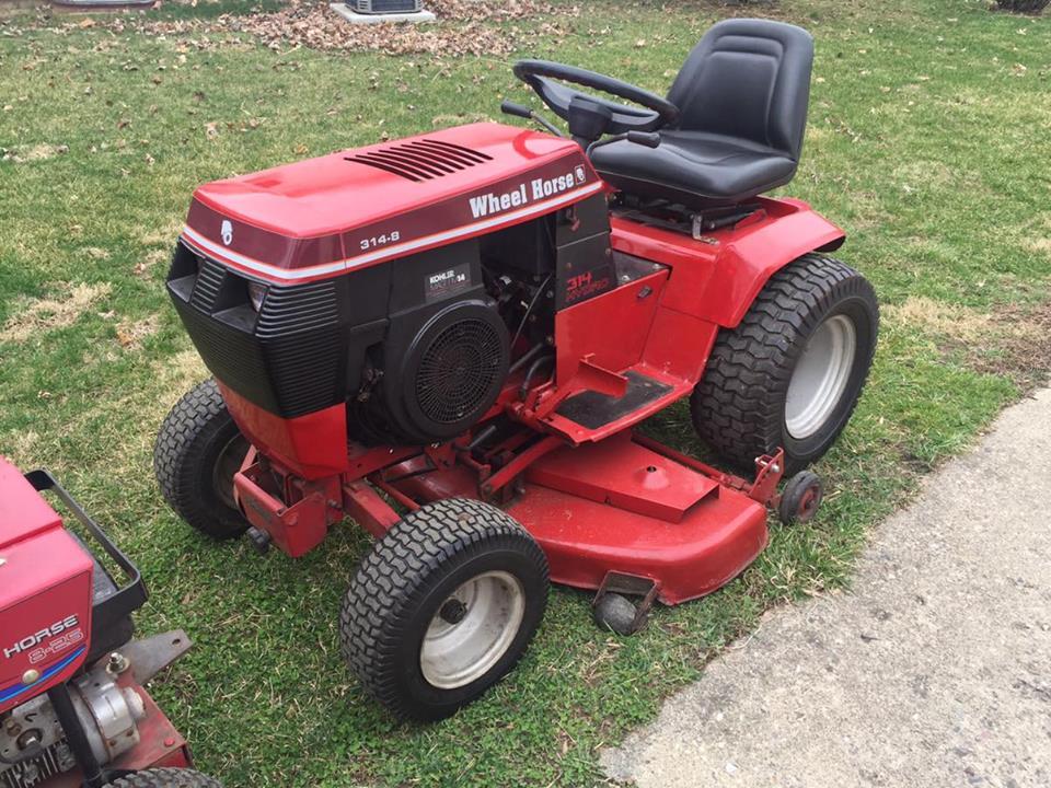 Wheel Horse 314 Lawn Tractor Tractors