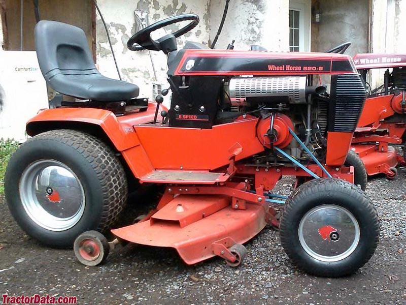 Wheel Horse 551 Lawn Tractor | Wheel Horse Lawn Tractors ... on