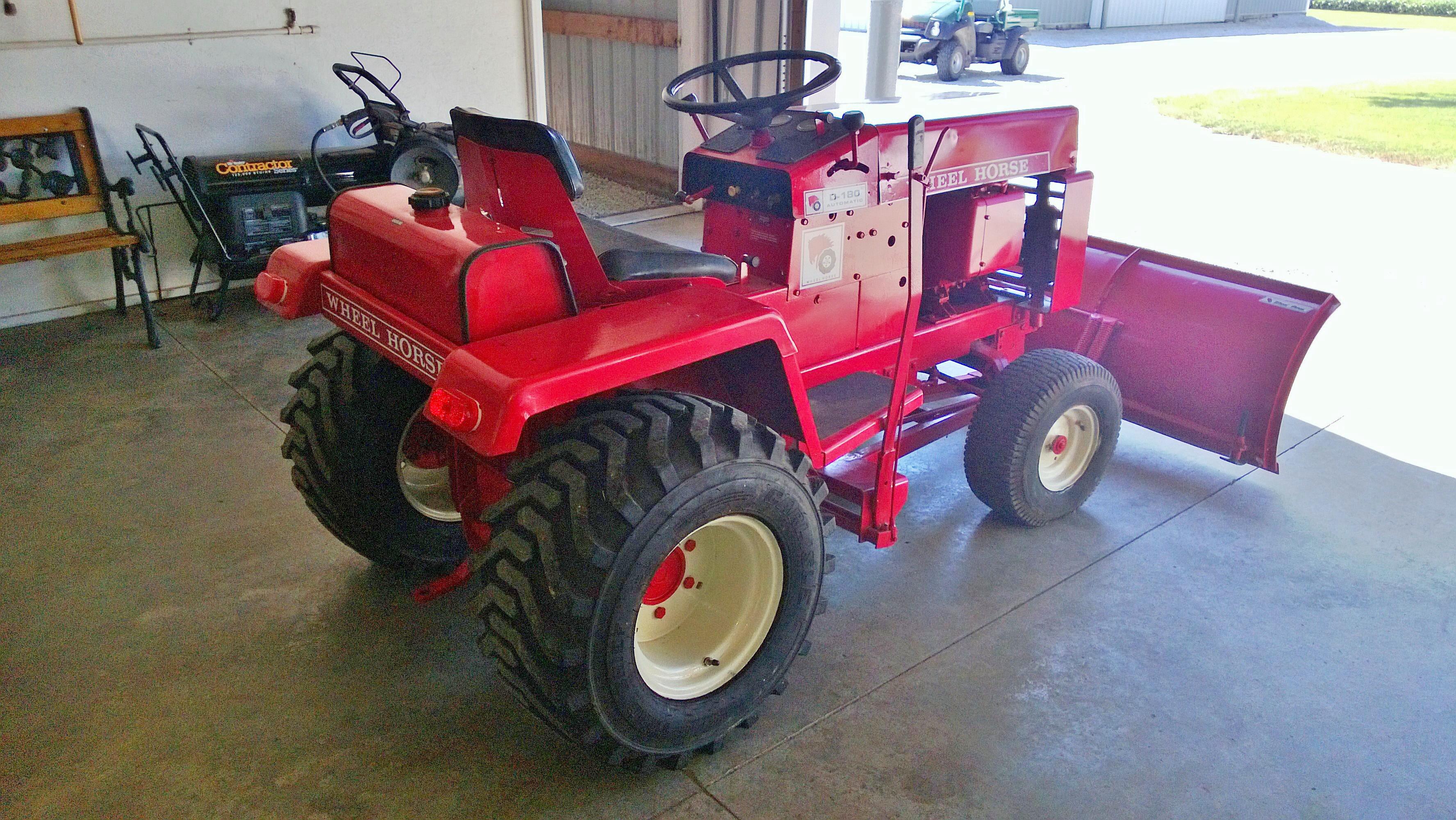 Wheel Horse D 180 Lawn Tractor Tractors Kohler K532 Wiring Diagram Gallery