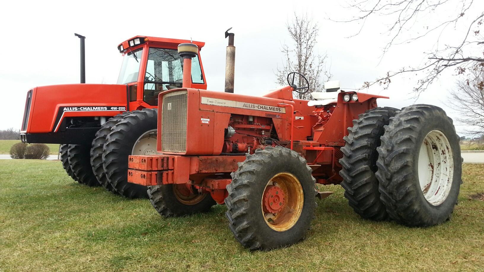 Allis Chalmers 4w 220 Farm Tractor | Allis Chalmers Farm