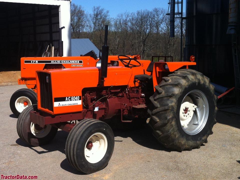 Allis Chalmers 6040 Farm Tractor | Allis Chalmers Farm