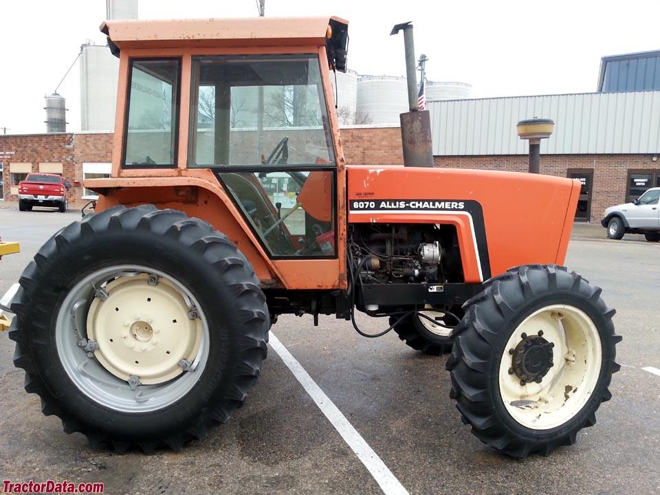 Allis Chalmers 6070 Farm Tractor   Allis Chalmers Farm