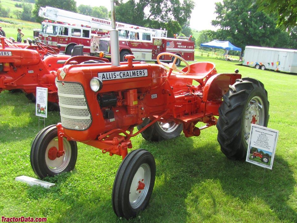 Allis Chalmers D12 Farm Tractor   Allis Chalmers Farm Tractors