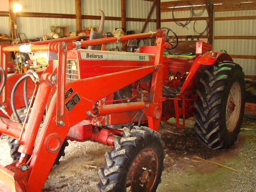 Belarus 520 Farm Tractor | Belarus Farm Tractors: Belarus Farm