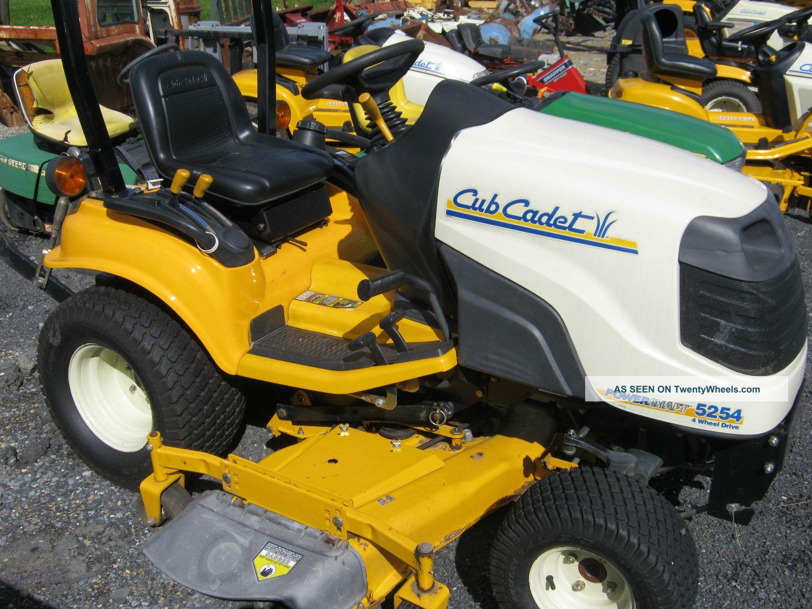 Cub Cadet 7000 Farm Tractor Tractors Bolens G174 Wiring Diagram 2004 5254 4x4 Utilitytractor Photo 1