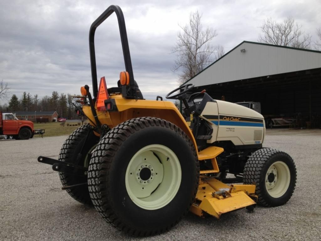 Cub Cadet 7000 Farm Tractor Tractors Bolens G174 Wiring Diagram 7235 4x4 Lawn