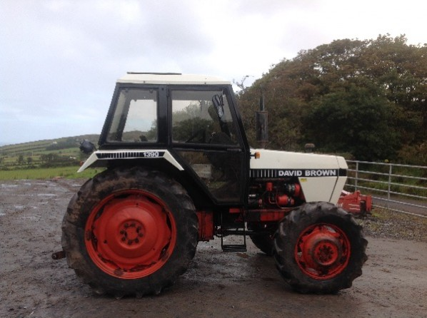 David Brown 1390 Farm Tractor | David Brown Farm Tractors