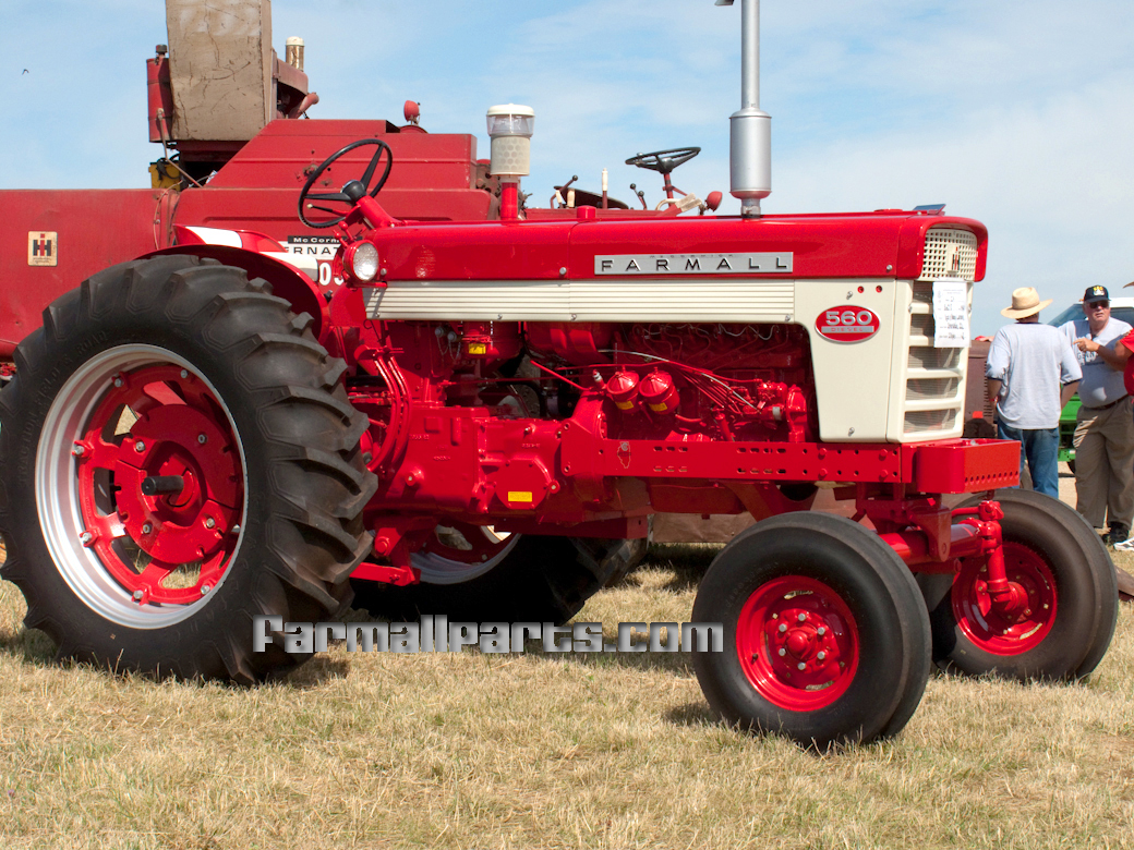 Farmall 560 Farm Tractor | Farmall Farm Tractors: Farmall