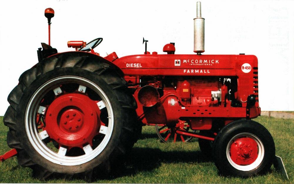 farmall b-450