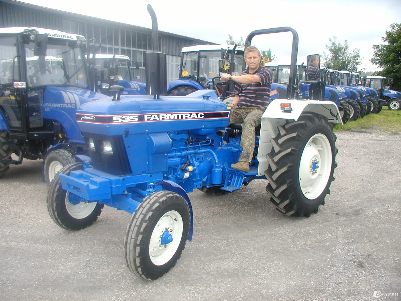 Farmtrac 535 Farm Tractor | Farmtrac Farm Tractors: Farmtrac